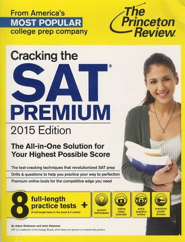9780804124676: The Princeton Review Cracking the Sat 2015
