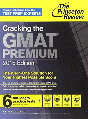 9780804124942: Cracking the GMAT Premium (Princeton Review)