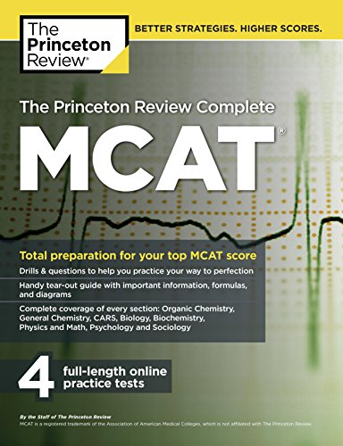 9780804125086: The Princeton Review Complete MCAT: New for MCAT 2015 (Graduate School Test Preparation)