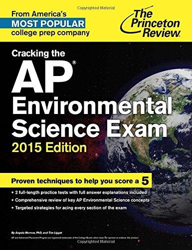 9780804125321: Cracking the AP Environmental Science Exam, 2015