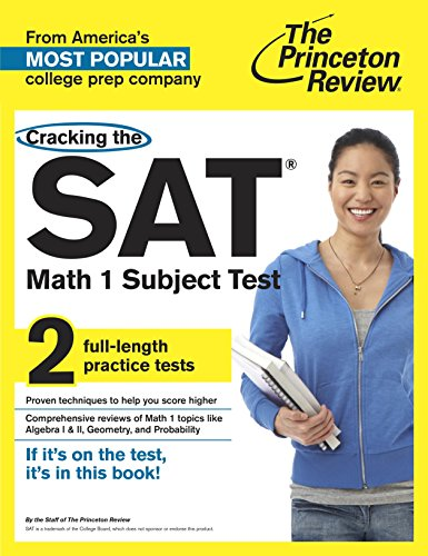 9780804125581: Cracking the SAT Math 1 Subject Test (College Test Preparation)