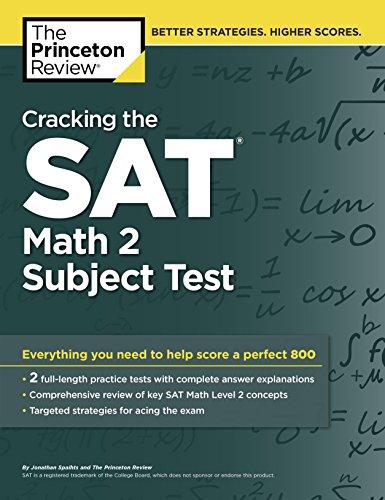 9780804125604: Cracking the SAT Math 2 Subject Test (Cracking the Sat Math Subject Test)