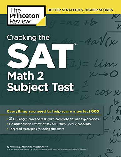9780804125604: Cracking the SAT Math 2 Subject Test