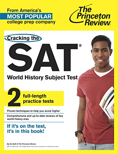 9780804125741: Princeton Review Cracking the SAT World History Subject Test
