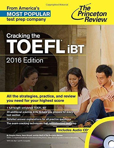 9780804125987: Cracking The TOEFL iBT - 2016 Edition (Audio CD) (Cracking the Toefl Ibt (Princeton Review) (Book & CD))