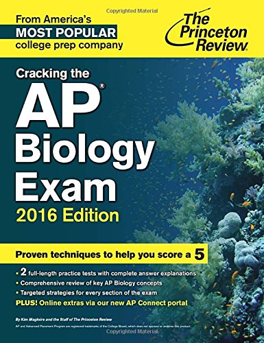 9780804126113: Cracking the AP Biology Exam, 2016 Edition