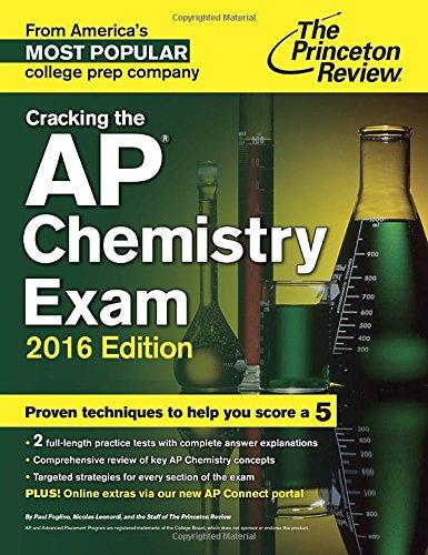 9780804126144: Cracking the Ap Chemistry Exam 2016