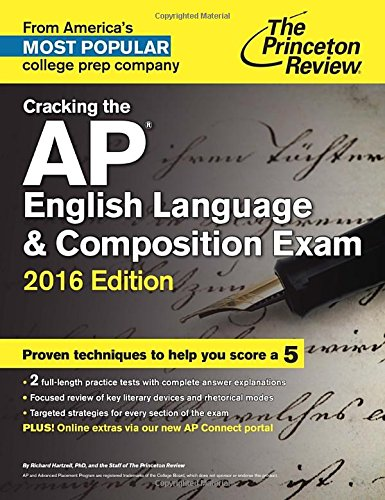 9780804126168: Cracking the AP English Language & Composition Exam 2016