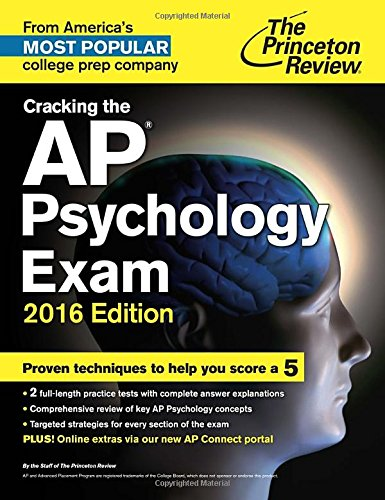 9780804126236: Cracking the AP Psychology Exam, 2016 Edition (College Test Preparation)