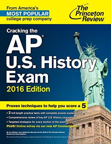 9780804126274: Cracking the Ap U.s. History Exam 2016