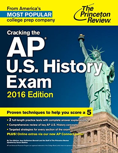 9780804126274: Cracking the AP U.S. History Exam, 2016 Edition (College Test Preparation)