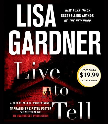 Live to Tell: Lisa Gardner (author),