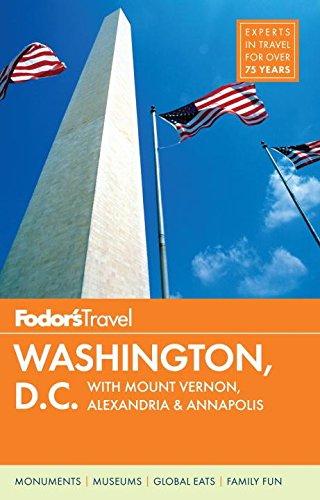 9780804142748: Fodor's Washington, D.C.: With Mount Vernon, Alexandria & Annapolis