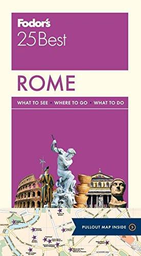 9780804143349: Fodor's Rome 25 Best (Full-color Travel Guide)