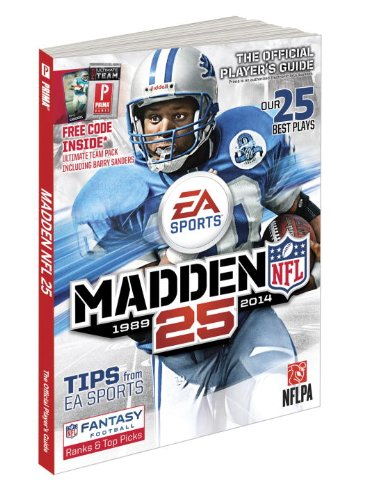 9780804161275: Madden NFL 25 1989-2014: The Official Player's Guide