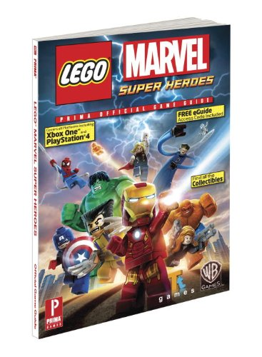 9780804161329: LEGO Marvel Super Heroes (Prima Official Game Guides)