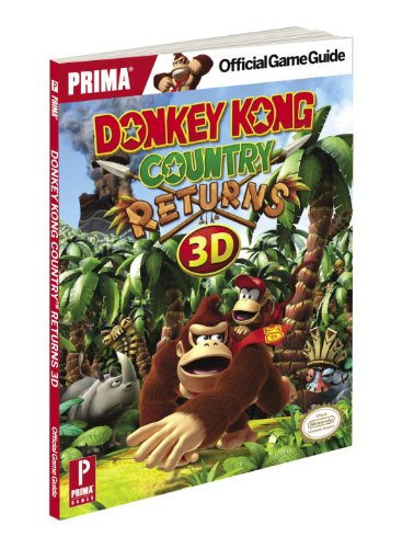 9780804161497: Donkey Kong Country Returns 3D: Prima Official Game Guide (Prima Official Game Guides)