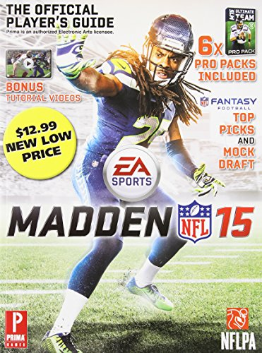 9780804162555: Madden NFL 15: Prima Official Game Guide