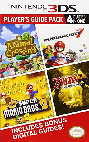 9780804163514: Nintendo 3DS Player's Guide Pack: Animal Crossing: New Leaf/Mario Kart 7/New Super Mario Bros. 2/The Legend of Zelda: A Link Between Worlds (Prima Official Game Guide)