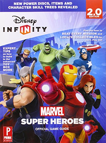 Disney Infinity Marvel Super Heroes Prima Official Game Guide