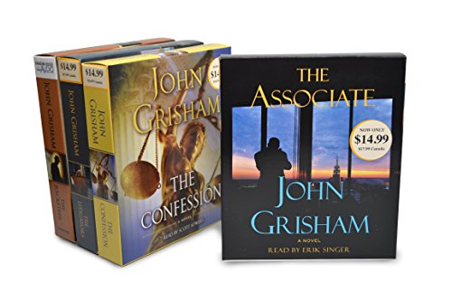 9780804164610: John Grisham Audiobook Bundle #2: The Associate; The Confession; The Litigators; The Racketeer