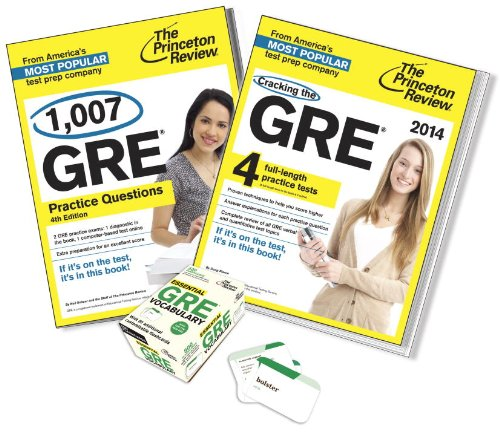9780804174596: Complete GRE Test Prep Bundle