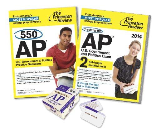 Complete AP U.S. Government & Politics Prep Bundle: Princeton Review