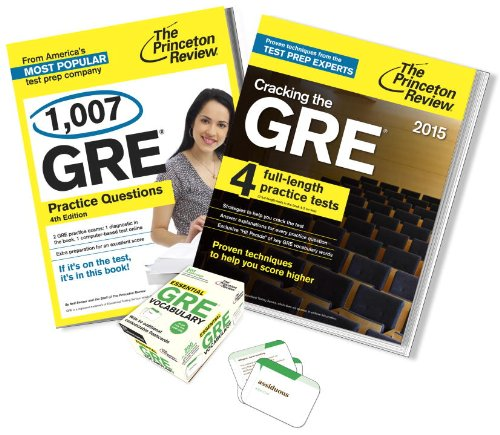 Complete GRE Test Prep Bundle 2015 Edition: Princeton Review