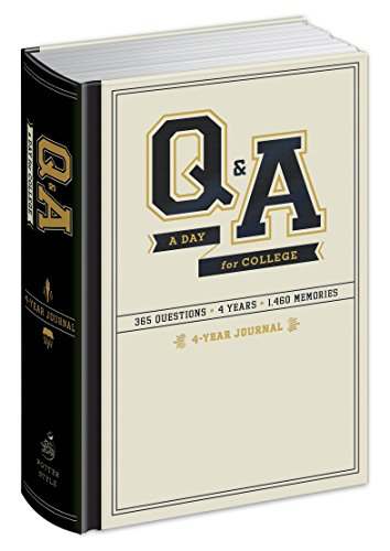 9780804185684: Q&A a Day for College: 4-Year Journal