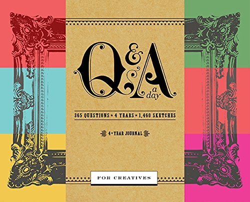 9780804186407: Q&A a Day for Creatives: A 4-Year Journal