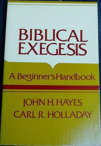 9780804200301: Biblical Exegesis: A Beginner's Handbook