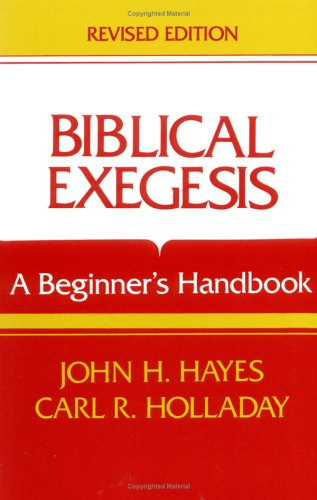 9780804200318: Biblical Exegesis, Revised Edition