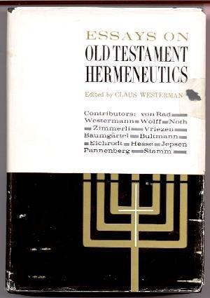 9780804201087: Essays on Old Testament Hermeneutics