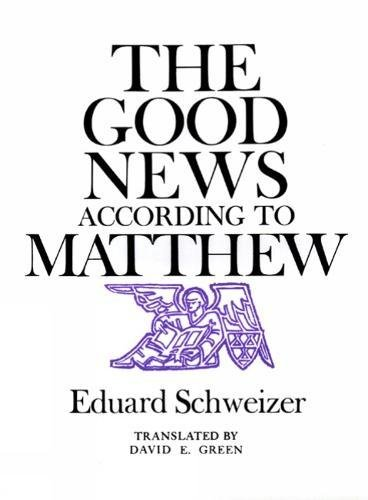 9780804202510: The Good News according to Matthew