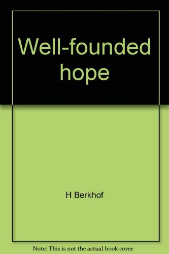 9780804204606: Well-founded hope