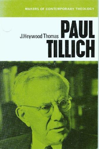 Paul Tillich: Thomas, J. H.
