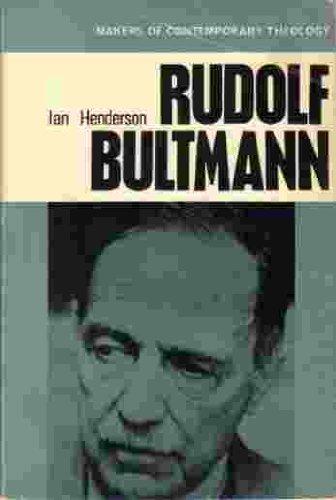 Rudolf Bultmann: Henderson, Ian, Nineham,