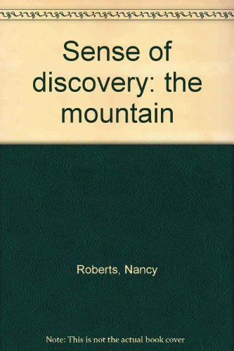 9780804229500: Sense of discovery: the mountain