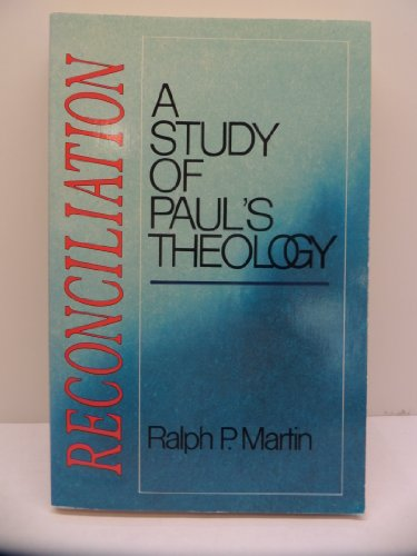 9780804237291: Reconciliation: A Study of Paul's Theology
