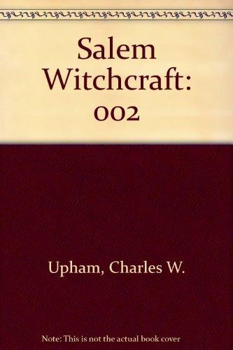 9780804419499: 002: Salem Witchcraft