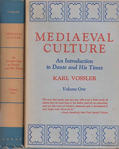 9780804419598: Mediaeval Culture: An Introduction to Dante and His Times: Two Volume Set