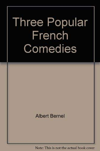Three popular French comedies (0804420416) by Albert Bermel