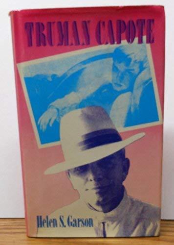 9780804422291: Truman Capote (Modern literature series)