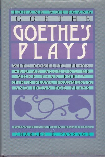 9780804422581: Goethe's Plays (English and German Edition)