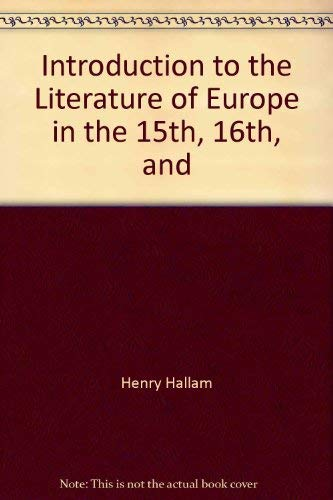 an introduction to the history of europe in the 16th and 17th centuries