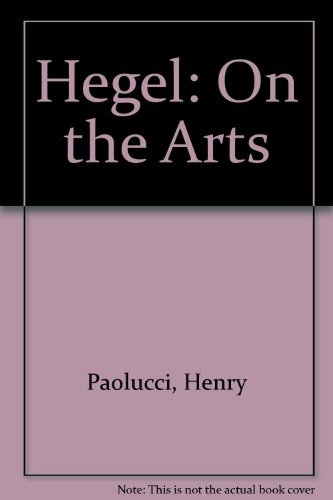 9780804423755: Hegel on the Arts