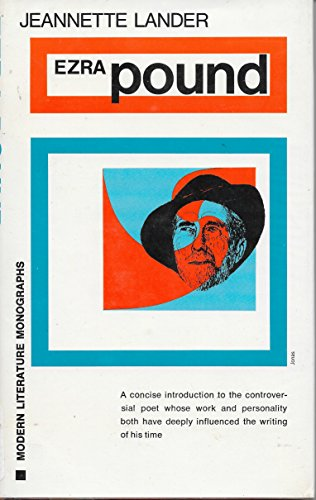 9780804424868: Title: Ezra Pound Modern Literature Monographs