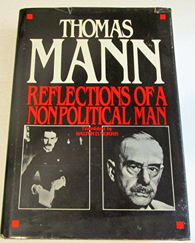 9780804425858: Reflections of a Nonpolitical Man