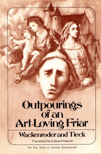 9780804429580: Outpourings of an art-loving friar