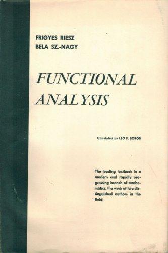 9780804448215: Functional Analysis